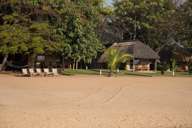 Chembe Eagles Nest am Malawi-See